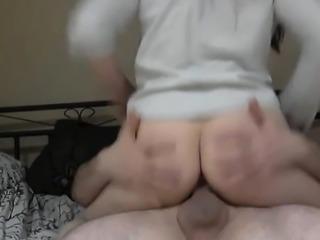 Amateur Blonde Blowjob handjob and cumshot