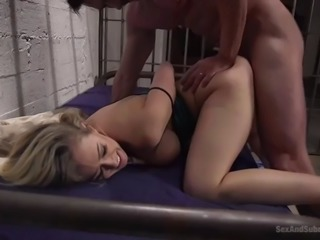 gorgeous milf kagney lynn carter is savagely fucked by dirty cop in mexican jail
