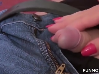 Whore wife Susi Muller makes her husband sniff panties and watch how neighbor...