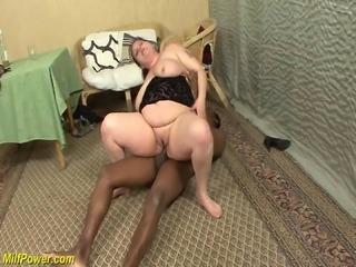 bbw milf first big black dick