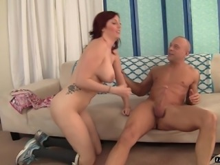 Lauren Phillips is a stunning redhead who loves being fucked