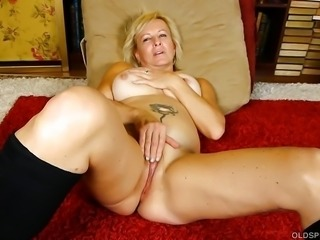 Super sexy old spunker in kinky boots loves to talk dirty