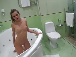 Lizi Vogue Golden shower, sex and blowjob in Jacuzzi