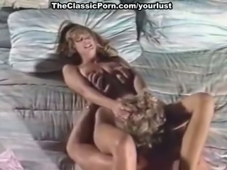 Horny classic blonde girl gives head to her blonde boyfriend