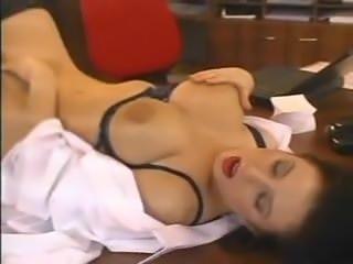 Big Tits Secretary Stockings Fucked In Office