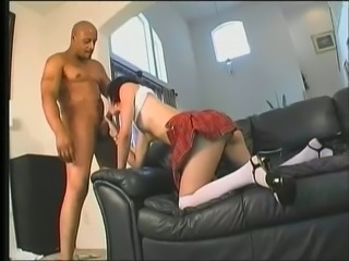 Quite flexible nympho with pale tits Tracie Trixxx gets brutally pile driven