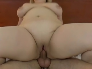 This BBW whore is one sexually depraved woman and she loves cowgirl position
