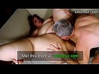 Bestfriends MOM with big tits loves to suck and fuck