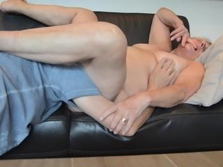Licking my old slut