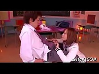 Talented girl favors a horny guy with a ideal oral session