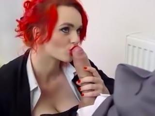 Jasmine James Monster Cock Blowjob
