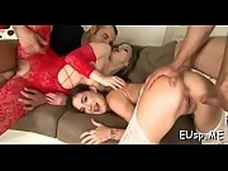 Hot party playgirl gives a hot blowjob and rides dick wildly