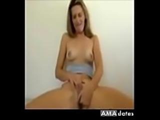 Wife masturbates for her husband