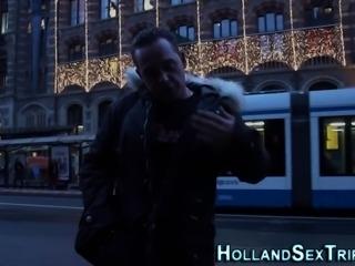 Dutch hooker doggystyled