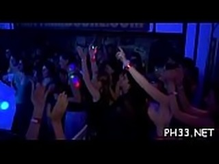 Drunk cheeks in club fucked and sucked undress dancers ramrod