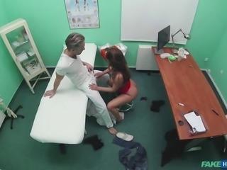 hidden cam sex in the doctors office