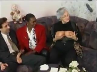 Grandma and friends