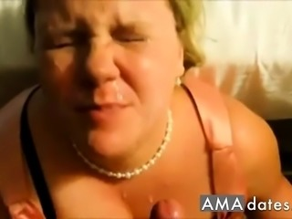 BBW Facial cumpilation.