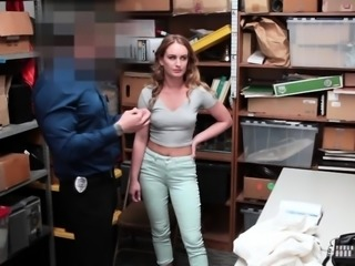 Sexy Daisy fucked hard by LP officer