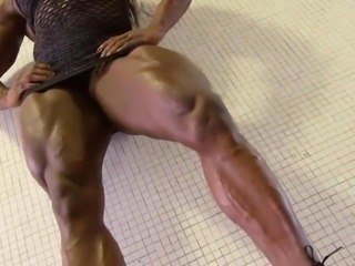 Black muscle goddess 2