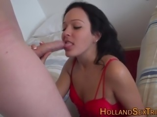 Real prostitute sucking