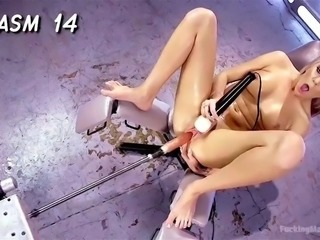 Multiple squirts , orgasmes plus a orgasm counter
