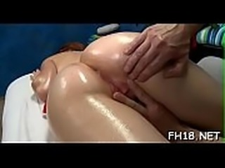 Sexy babe gets fucked hard and gives a massage!