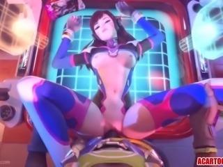 Big tits 3d heroes fucking and riding big cocks