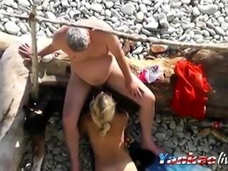 Mature Blonde Suck & Fuck - Friend Watches