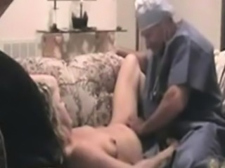 Kinky milf is fucked by fat cock while she does blowjob