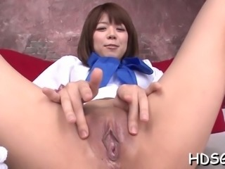 Deepthroating cocks is what she likes