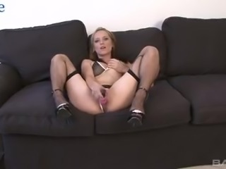Real pallid housewife Eliza takes fat strong BBC into her wet pussy