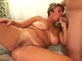 Blowjob ends with facial