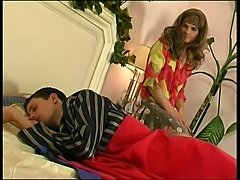 Teen crossdresser fucked by his bf