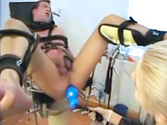 Twisted Femdom prostate massage