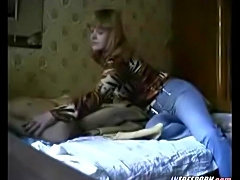 Blonde Amateur Milf Fucking Younger Guy