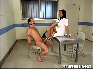 Sandra Romain and Little Billy in a femdom scene