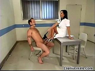 Sandra Romain and Little Billy in a femdom scene