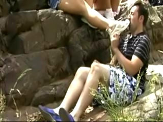 Jim gotta smell the feet!
