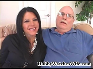 Kendra's husband has had the fantasy of watching her with another man for...