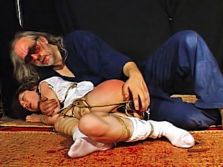 Asian rope slave severe bdsm tortured