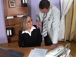 BBW Secretary fucking her bosses!
