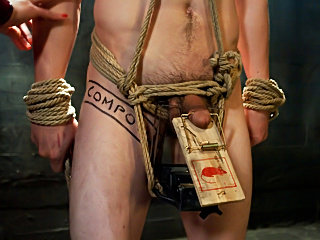 Chastity Cuckold Slave dominating her hubby