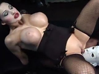 Aletta Ocean in a kinky scene with a black cock