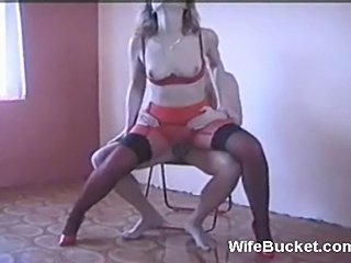 Russian wife is a total slut