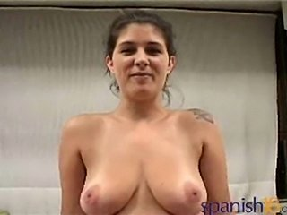 busty latina Fernanda Velez shows us how good she suckscock