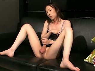 Japanese TS Kathoey with a big cock
