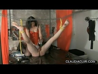 Video sado maso dominatrice claudiacuir seance bdsm medicale