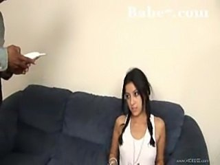 Latin teen and a bbc  free