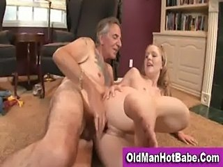 Old man fucking a young blonde  free